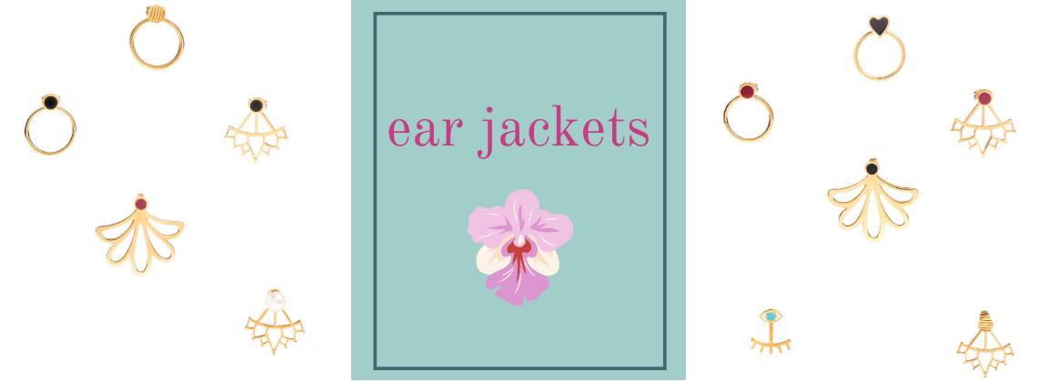 Χειροποίητα κοσμήματα Ear Jackets by Honeymade
